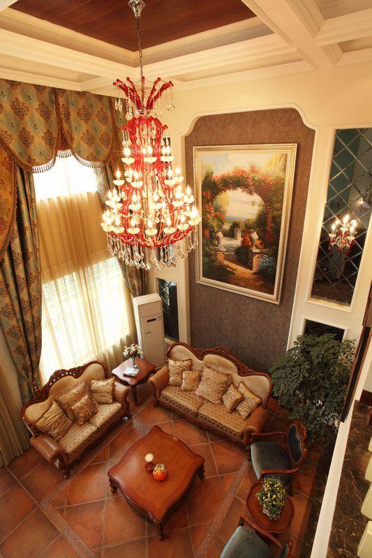欧式 复式 客厅图片来自用户2557013183在330平米美式乡村风格舞者之家-赛洛公馆41的分享