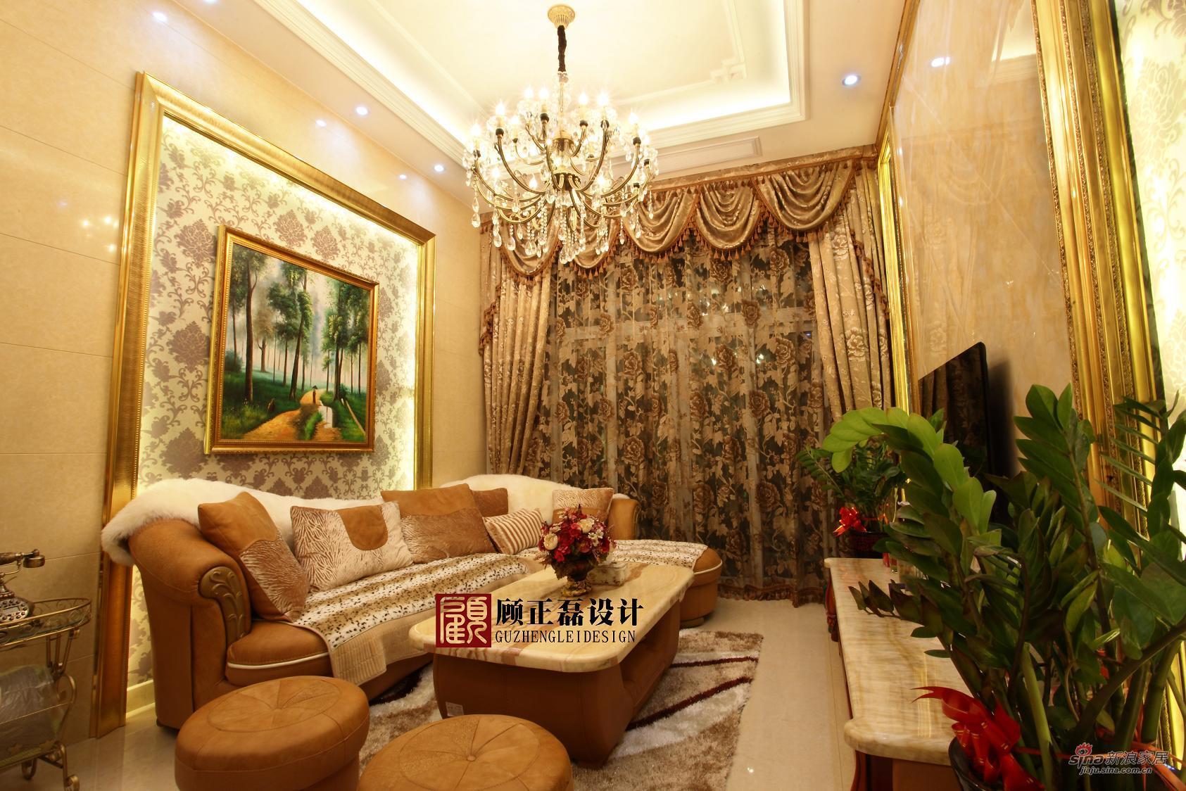欧式 三居 客厅图片来自用户2746869241在【高清】100平米简约欧式居住空间13的分享
