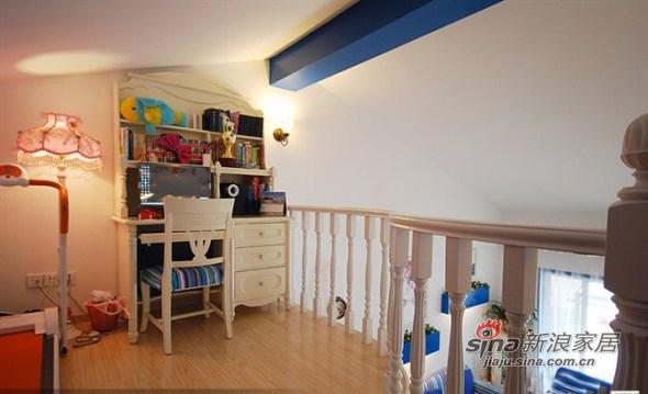 地中海 复式 儿童房图片来自用户2757320995在清新地中海98的分享