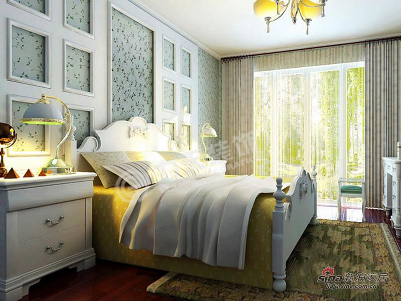 简约 二居 卧室图片来自阳光力天装饰在华城浩苑-2室2厅1厨1卫-现代简约17的分享