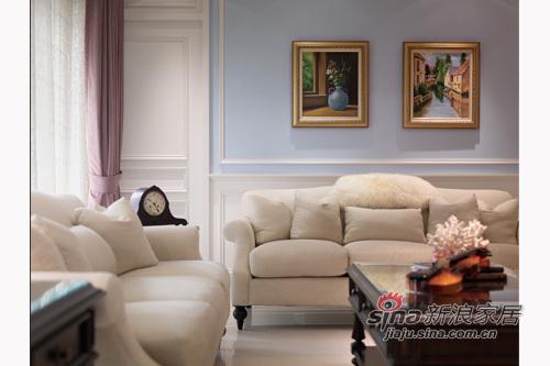 欧式 其他 客厅图片来自用户2757317061在156平缤纷色彩优雅英式古典居49的分享