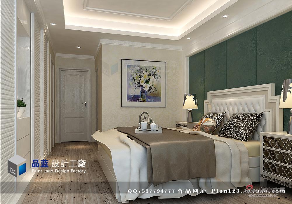 简约 四居 卧室图片来自用户2557979841在停靠,旅途中的乌托邦152平样板房90的分享