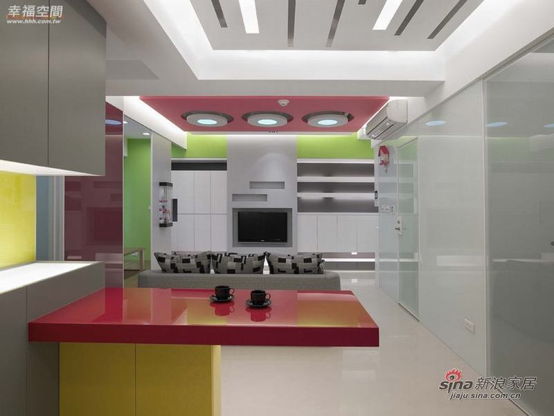 简约 二居 其他图片来自幸福空间在79平色彩明艳的现代简约2居室40的分享