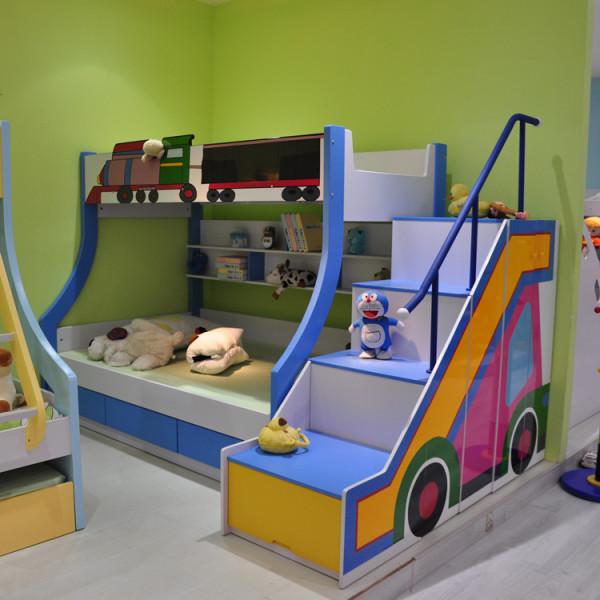 儿童家具 双层床 上下床 高低子母床 儿童床 组合床
