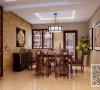 中式风格四居室88