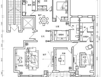 【高清】成功人士230平简欧大气豪宅98