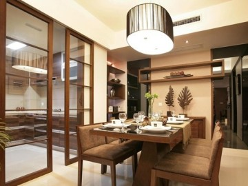 8.5万铸造异域东南亚风格三居室64