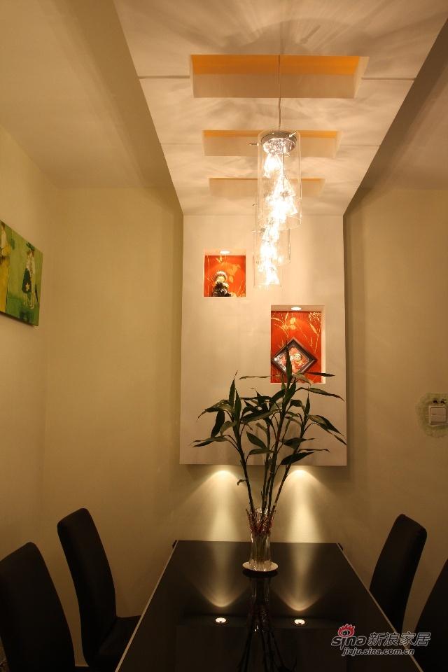 简约 二居 餐厅图片来自用户2737759857在客厅局部改造88的分享