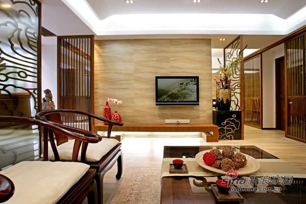 中式 二居 客厅图片来自用户1907659705在8W全包新中式风格客厅360鉴赏18的分享