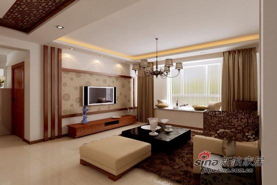 中式 三居 客厅图片来自用户1907659705在沈阳金地滨河国际--乐家装饰21的分享