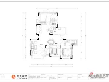 钱隆学府洋房145㎡-3室3厅-现代简约86