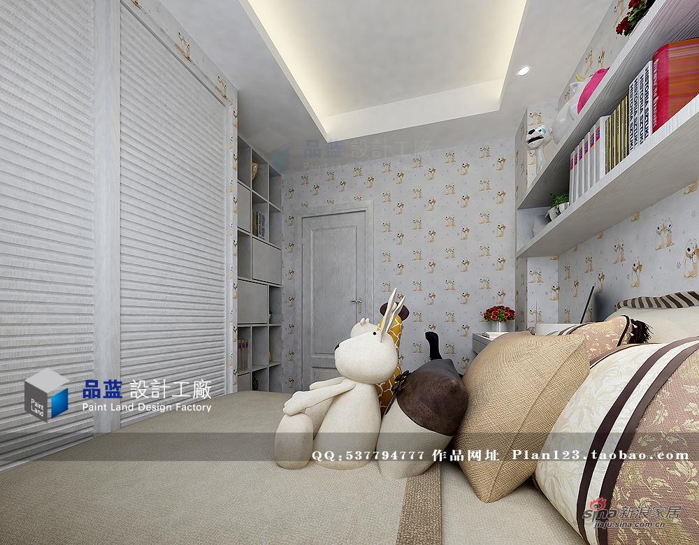简约 三居 儿童房图片来自用户2738093703在【高清】品质生活125平米样板房90的分享