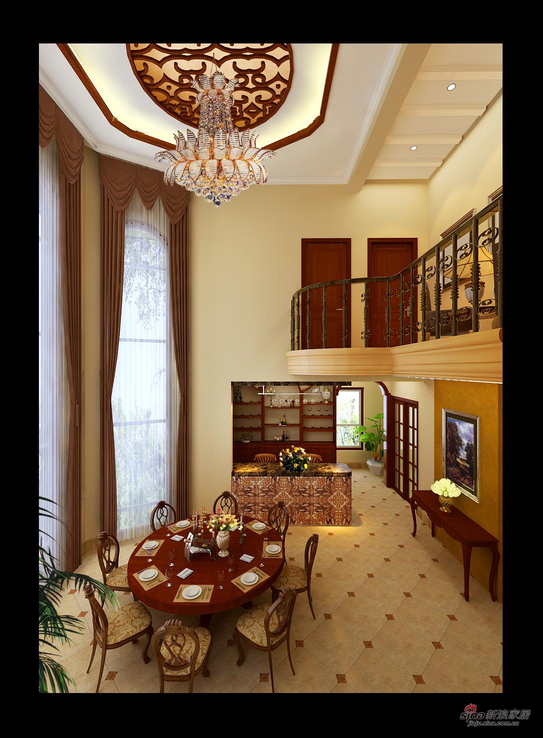 欧式 三居 餐厅图片来自用户2746953981在我的专辑175406的分享