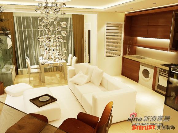 简约 一居 客厅图片来自用户2557979841在6.5万打造北京像素105㎡简约风格38的分享