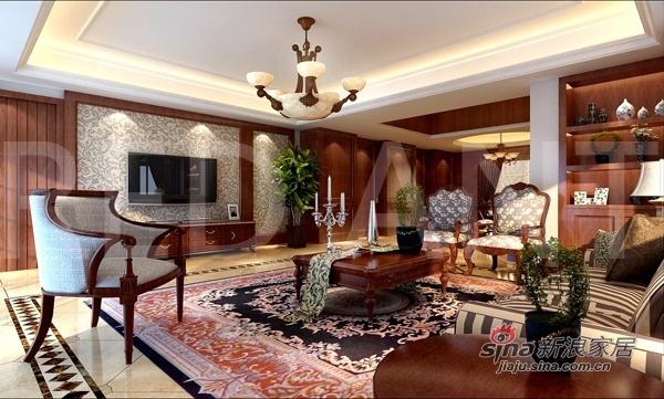 欧式 三居 客厅图片来自用户2772873991在万科140平精装三居简欧豪宅42的分享