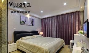 现代 三居 公主房 卧室图片来自威利斯空间设计在【多图】80后90平现代风格婚房水晶之恋21的分享