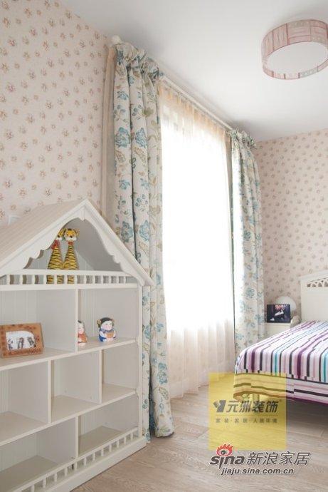 混搭 四居 儿童房图片来自用户1907655435在保利垄上330平经典现代与欧式混搭装修实景图40的分享