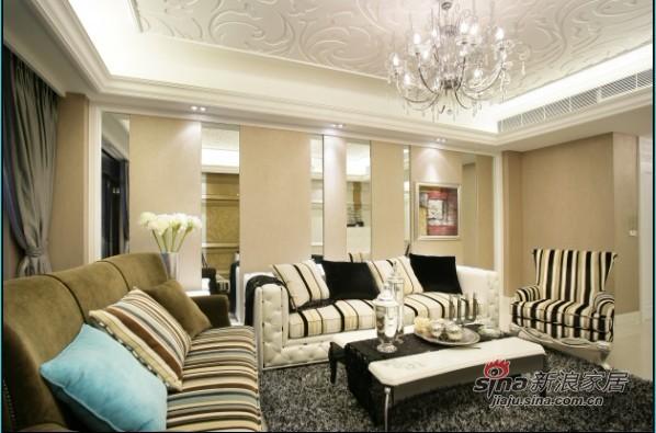 欧式 二居 客厅图片来自佰辰生活装饰在14万完美造就简欧主题3房96的分享