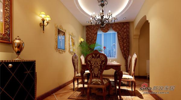 欧式风格案例-餐厅
