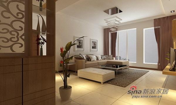 简约 四居 客厅图片来自用户2557979841在宏发英里120平典雅家居57的分享