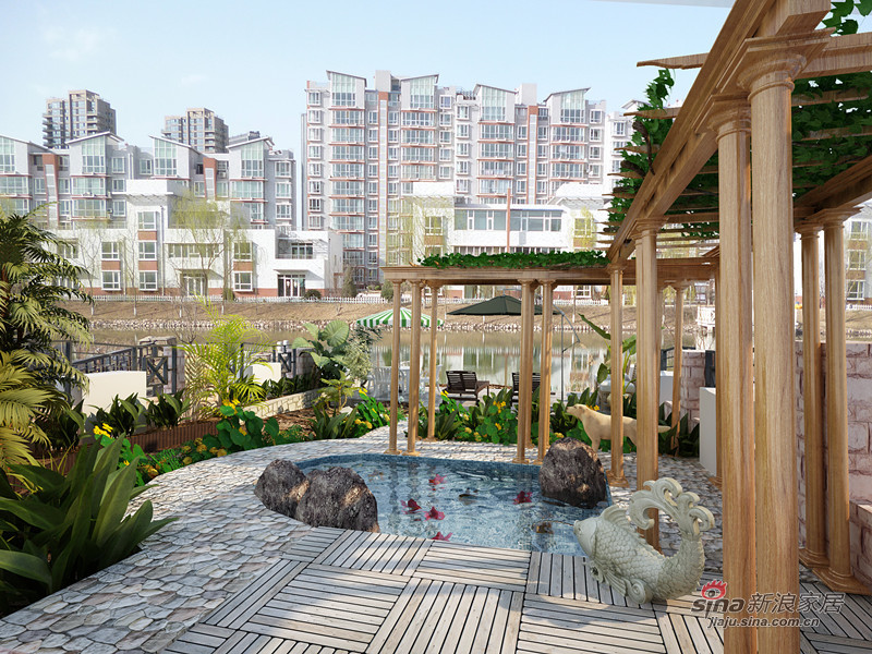 欧式 别墅 阳台图片来自用户2757317061在【高清】欧式新古典别墅设计森林首府23的分享
