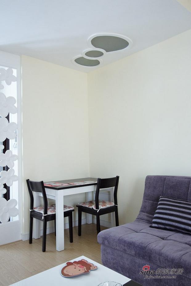 简约 复式 餐厅图片来自用户2558728947在kitty控2室2厅复式童话小屋22的分享
