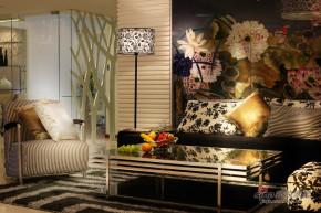 现代 二居 客厅 文艺青年图片来自装修微日记在【高清】12万打造99平现代时尚潮居66的分享