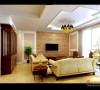 客厅;简洁大方的造型使客厅看起来更通透
