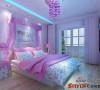 卧室色调很温馨