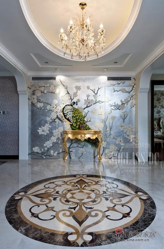 欧式 别墅 玄关图片来自用户2746889121在身边活色生香的欧式古典27的分享