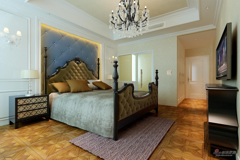 欧式 四居 卧室图片来自用户2772856065在现代城148平古典欧式4居81的分享