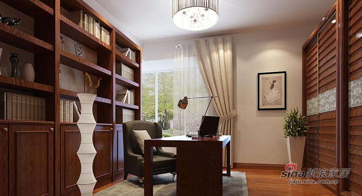 中式 三居 书房图片来自用户1907658205在我的专辑741144的分享