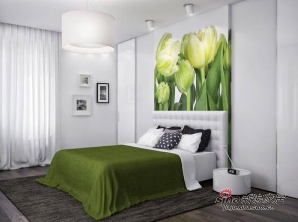 简约 公寓 卧室图片来自用户2737782783在150平宽敞明亮又实用美观公寓64的分享