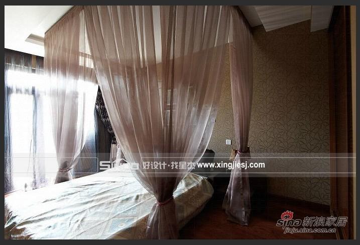 欧式 别墅 卧室图片来自用户2772856065在简欧混搭风29的分享