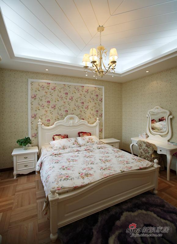 中式 别墅 卧室图片来自用户1907662981在【高清】253平远洋庄园95的分享