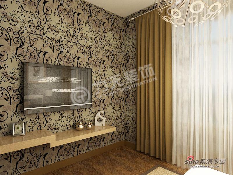 简约 二居 卧室图片来自阳光力天装饰在两室一厅现代简约美家54的分享