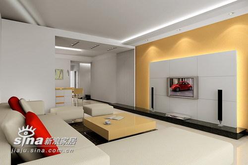 简约 三居 客厅图片来自用户2739378857在华艺苑27的分享
