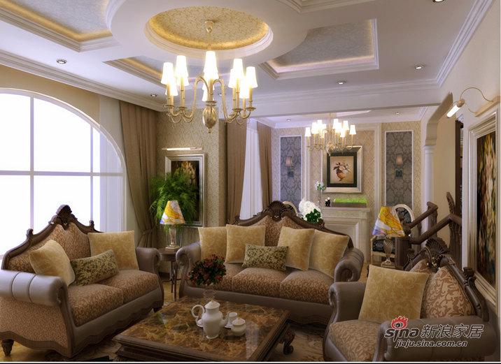 欧式 三居 客厅图片来自用户2746889121在保利海上五月花【沈阳实创装饰】54的分享