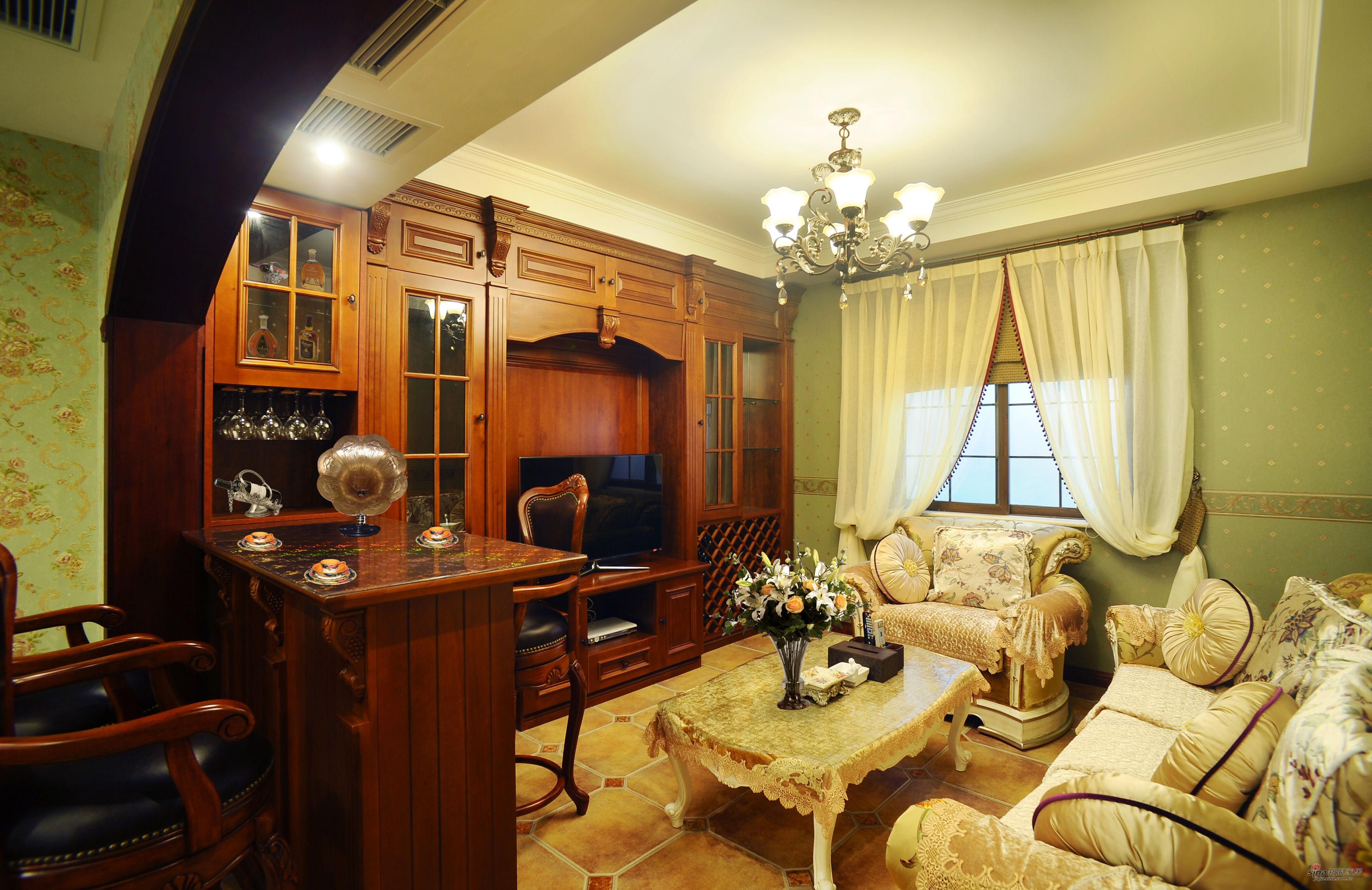 欧式 别墅 书房图片来自用户2746889121在低调在奢华中绽放-欧式风格55的分享