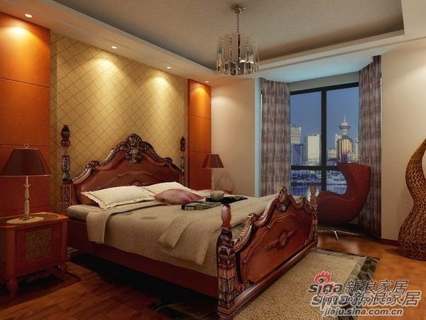 欧式 三居 卧室图片来自用户2772873991在自然、古朴的简欧居室40的分享