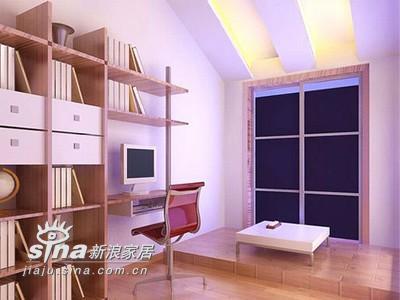 其他 其他 书房图片来自用户2771736967在省钱装修 16款清新大方简单现代家装案例88的分享