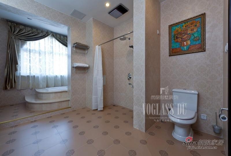 欧式 别墅 卫生间图片来自用户2746889121在身边活色生香的欧式古典27的分享