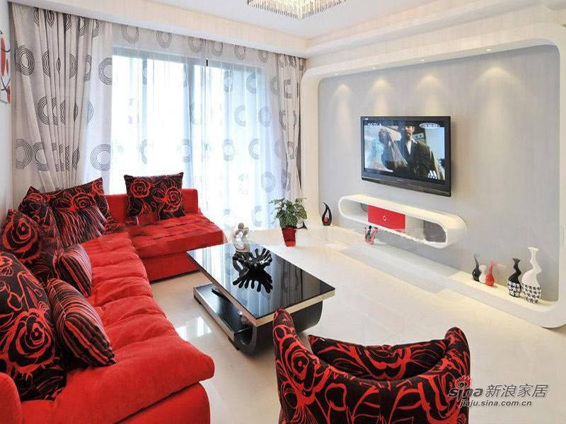 简约 一居 客厅图片来自用户2737950087在6.5万打造红色恋曲之山楂树之恋33的分享