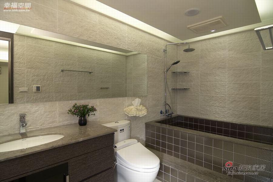 新古典 一居 卫生间图片来自幸福空间在73平单身公寓展现东方华丽72的分享