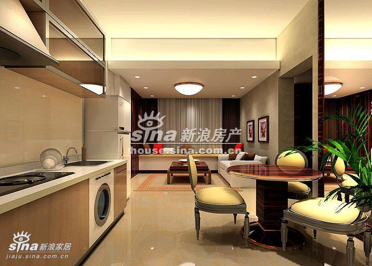 简约 别墅 餐厅图片来自用户2737786973在荣京丽都样板间展示89的分享