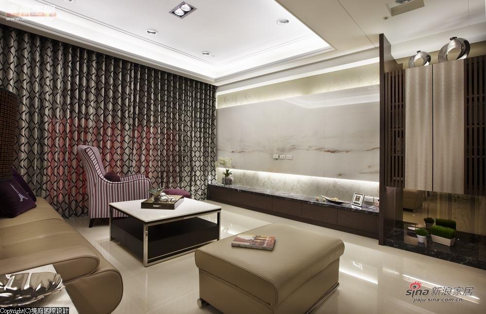新古典 三居 客厅图片来自幸福空间在【高清】165平诠释新古典居家对称线条13的分享