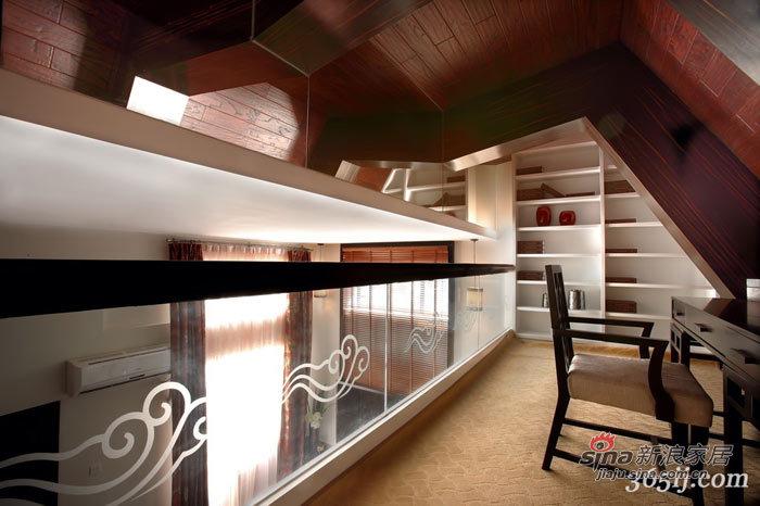 中式 别墅 书房图片来自用户1907659705在萧氏设计——情韵中国39的分享