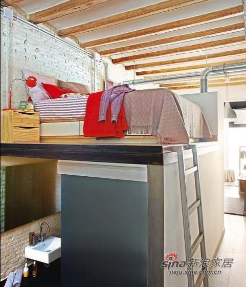 简约 一居 卧室图片来自用户2558728947在5W巧装67平LOFT原木简约家83的分享