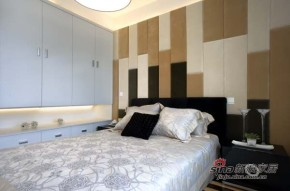 港式 三居 卧室 屌丝图片来自佰辰生活装饰在白领12万打造99平港式婚房28的分享