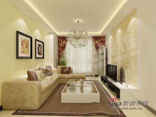 简约 二居 客厅图片来自阳光力天装饰在清爽美居还您一份清新的感觉85的分享
